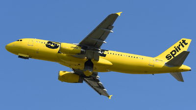 A picture of N602NK - Airbus A320232 - Spirit Airlines - © DJ Reed - OPShots Photo Team