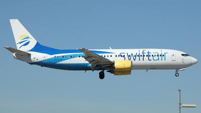 A picture of N420US - Boeing 737401 - Swift Air - © Arno Vesterholm
