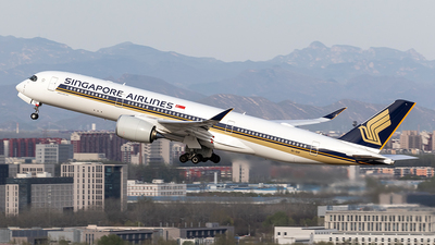 9V-SHP - Airbus A350-941 - Singapore Airlines