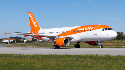 A picture of GEZWA - Airbus A320214 - easyJet - © Carlos Miguel Seabra