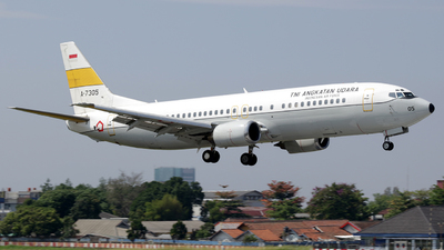 A-7305 - Boeing 737-4U3 - Indonesia - Air Force