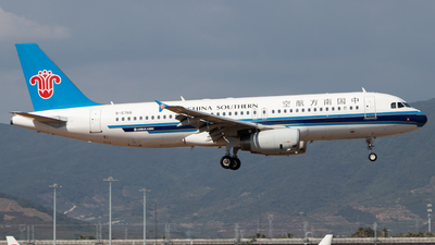 A picture of B6766 - Airbus A320232 - China Southern Airlines - © GZH