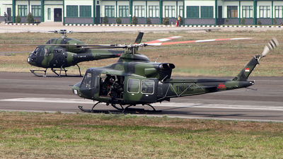 HA-5182 - Bell 412EP - Indonesia - Army