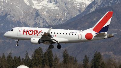 A picture of FHBXH - Embraer E170STD - Air France - © Borut