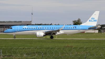 A picture of PHEZG - Embraer E190STD - KLM - © Johannes Reichert