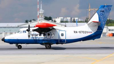RA-67031 - Let L-410UVP-E20 Turbolet - Orenburzhie