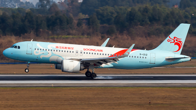 A picture of B1212 - Airbus A320251N - Loong Air - © SZ4509