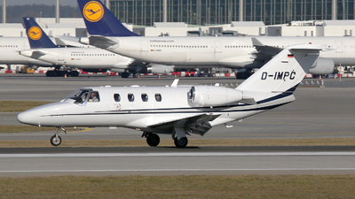 D-IMPC - Cessna 525 CitationJet 1 - Private