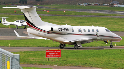 A picture of CSPHI - Embraer Phenom 300 - NetJets - © Brian T Richards