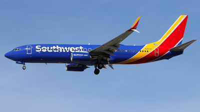 N8673F - Boeing 737-8H4 - Southwest Airlines