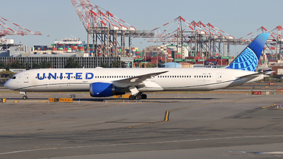 A picture of N14011 - Boeing 78710 Dreamliner - United Airlines - © Xiamen Air 849 Heavy