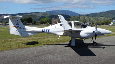 ZK-MTR - Diamond DA-42 Twin Star - Massey University School Of Aviation