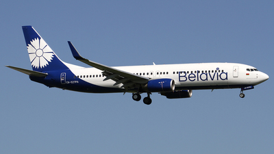 A picture of EW527PA - Boeing 73782R - Belavia - © Frank Specker
