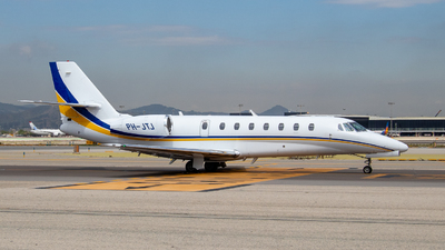 PH-JTJ - Cessna 680 Citation Sovereign - Private