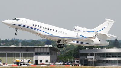 N714K - Dassault Falcon 7X - Private