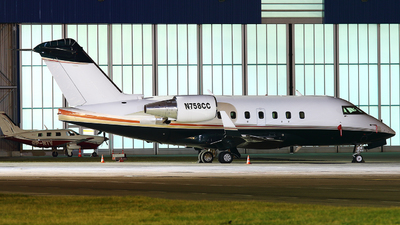 N758CC - Bombardier CL-600-2B16 Challenger 604 - Private