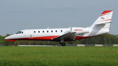 N621CS - Cessna 680 Citation Sovereign - Private
