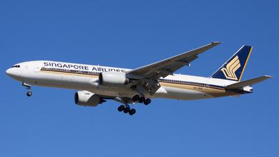 9V-SVK - Boeing 777-212(ER) - Singapore Airlines