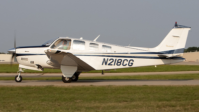 N218CG - Beechcraft A36 Bonanza - Private
