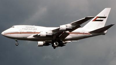 A6-SMR - Boeing 747SP-31 - United Arab Emirates - Dubai Air Wing