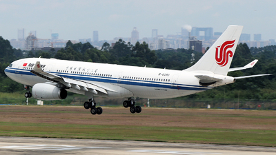 A picture of B6090 - Airbus A330243 - Air China - © Harry Shan