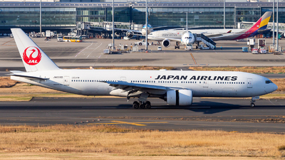 JA008D - Boeing 777-289 - Japan Airlines (JAL)