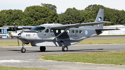 630 - Cessna 208B Grand Caravan EX - Guatemala - Air Force