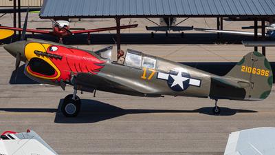 NL1195N - Curtiss P-40N Warhawk - Private
