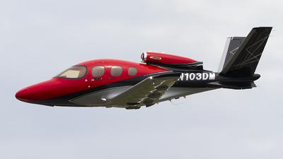 N103DM - Cirrus Vision SF50 G2 Arrivee - Private
