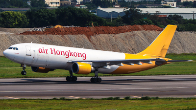 A picture of BLDE - Airbus A300F4605R - Air Hong Kong - © Jhang yao yun