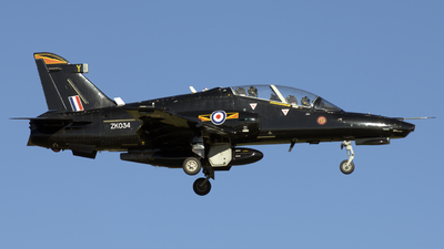 ZK034 - British Aerospace Hawk T.2 - United Kingdom - Royal Air Force (RAF)