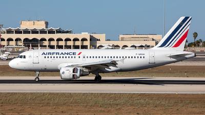 F-GRHH - Airbus A319-111 - Air France