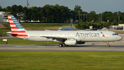 N534UW - Airbus A321-231 - American Airlines