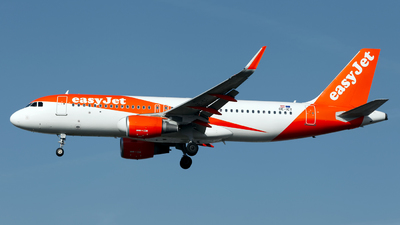 OE-ICT - Airbus A320-214 - easyJet Europe