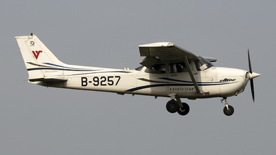 B-9257 - Cessna 172R Skyhawk - Civil Aviation Flight University of China