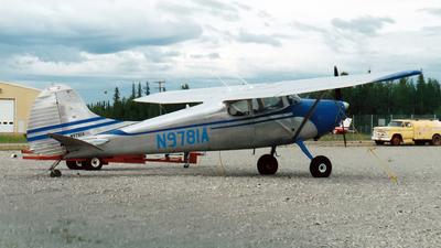 N9781A - Cessna 170 - Private