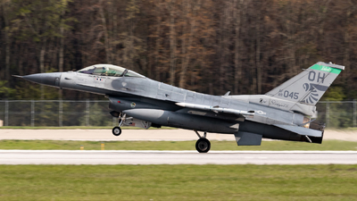 89-2045 - General Dynamics F-16CM Fighting Falcon - United States - US Air Force (USAF)