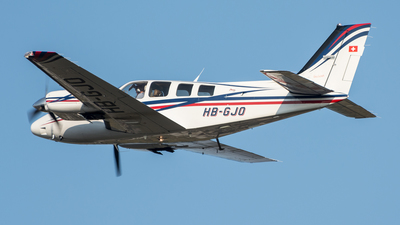 HB-GJO - Beechcraft 58 Baron - Private