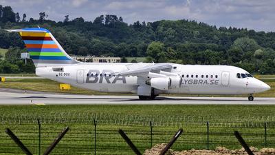 SE-DSV - British Aerospace Avro RJ100 - Braathens Regional