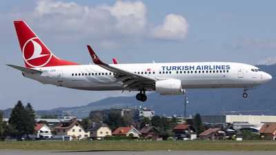A picture of TCJVO - Boeing 7378F2 - Turkish Airlines - © Maximilian Haertl