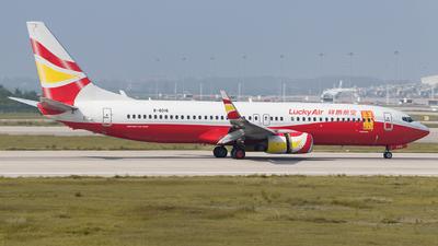 B-6016 - Boeing 737-84P - Lucky Air