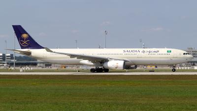 HZ-AQ16 - Airbus A330-343 - Saudi Arabian Airlines