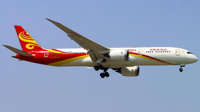 A picture of B1345 - Boeing 7879 Dreamliner - Hainan Airlines - © WangYY
