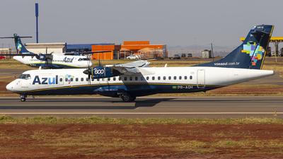 A picture of PRAQH - ATR 72600 - Azul Linhas Aereas - © Fabricio Lucio