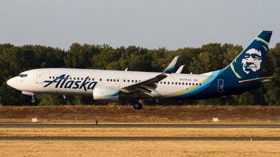 A picture of N519AS - Boeing 737890 - Alaska Airlines - © Owen Peters