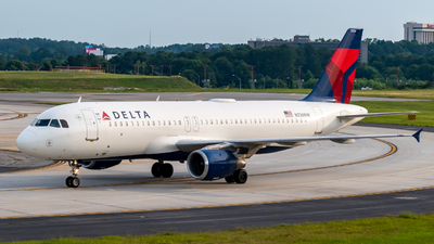 A picture of N336NW - Airbus A320212 - Delta Air Lines - © A7-BAJ