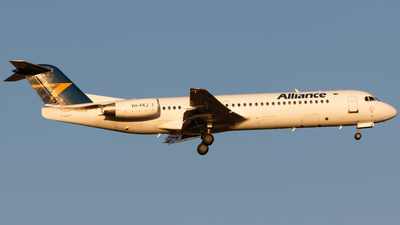 VH-FKJ - Fokker 100 - Alliance Airlines