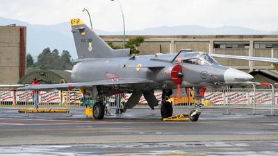 FAC3061 - IAI Kfir C10 - Colombia - Air Force