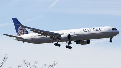 A picture of N69063 - Boeing 767424(ER) - United Airlines - © Xiamen Air 849 Heavy