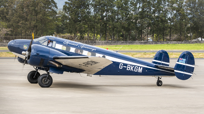 G-BKGM - Beech 18 - Private